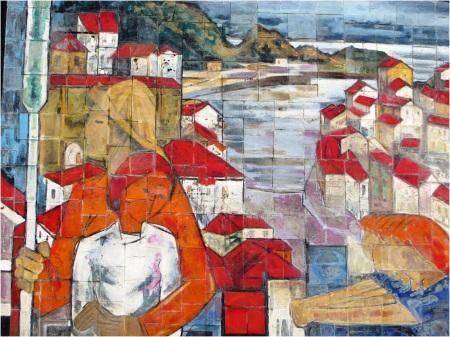 Cudillero Wall Tile 2