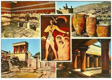 Knossos postcard 1