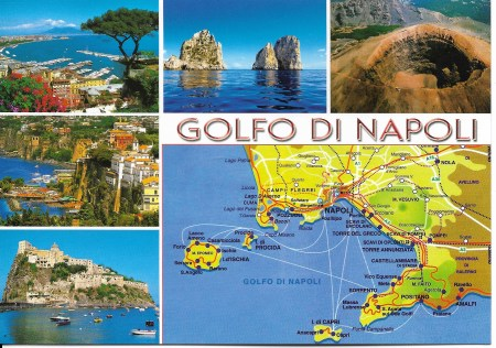 Gulf of Naples Postcard