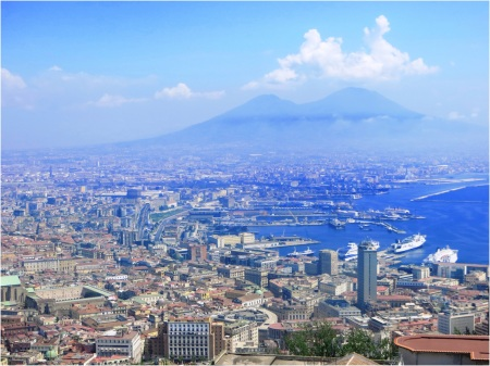 Naples and Vesuvius