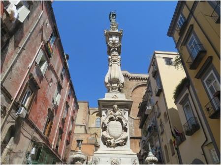 Naples Statue 1