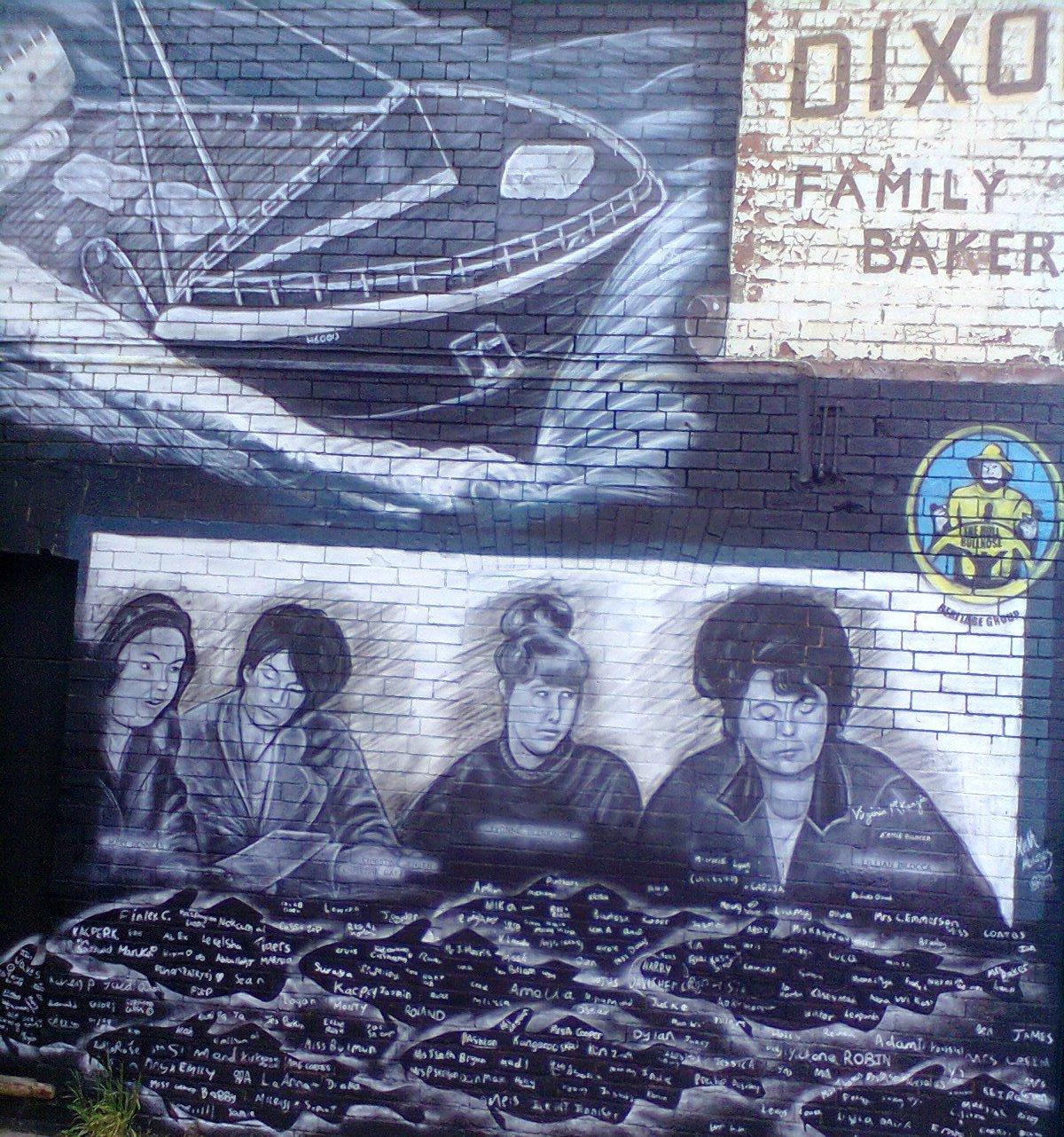 Lilian Bilocca Wall Mural