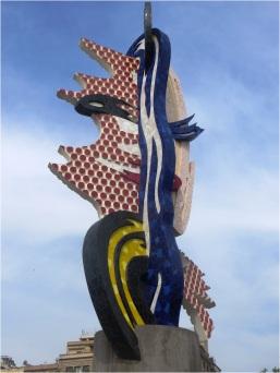 Barcelona Sea Front Symbol of City