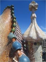 Casa Battlo Roof