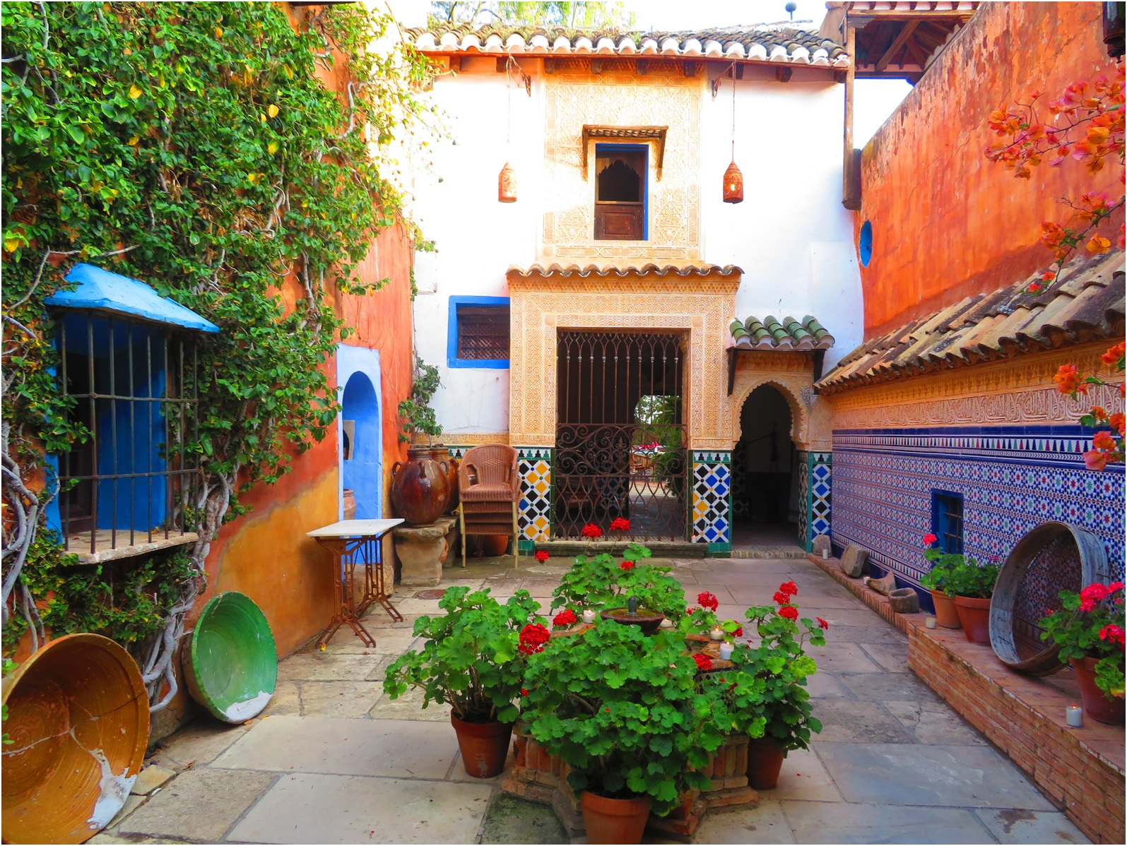 Travels In Spain The Moroccan Tea Gardens At Crevillent Have