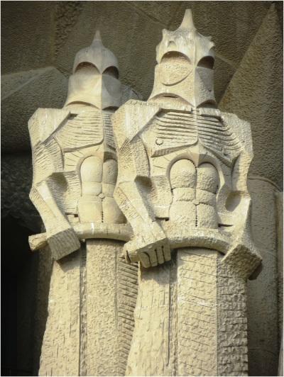 Sagrada Familia Statues