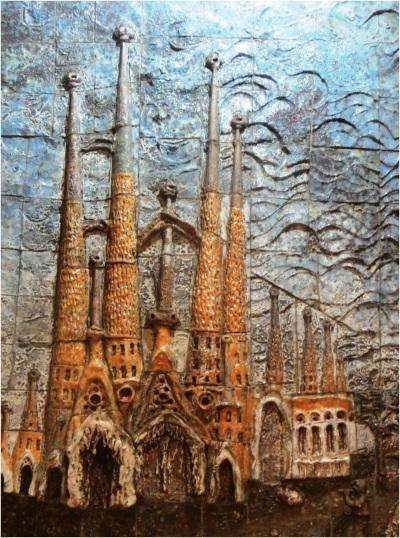 Sagrada Familia Tiles 01