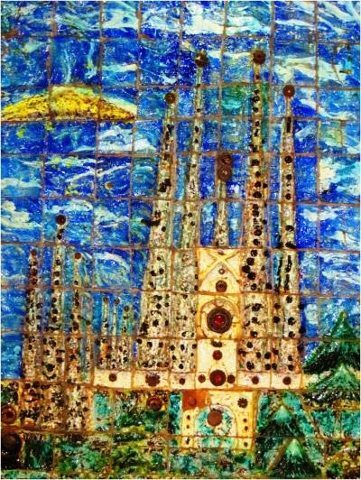 Sagrada Familia Tiles 02
