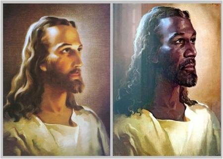 Jesus Black or White