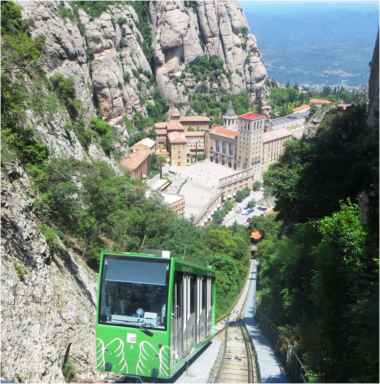 Carte Barcelone Montserrat.Black Madonna Montserrat Barcelona Have Bag Will Travel