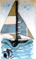 Southwold Boat Painting