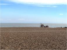 Aldeburgh Boat on Beach