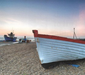 Aldeburgh Boats on Beach
