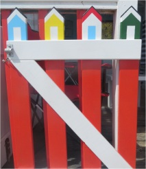 Beach Hut Gate