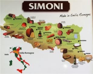 Bologna Food Map