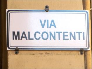Bologna Via Malcontenti