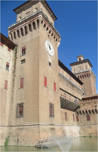 Ferrara Palace and Moat
