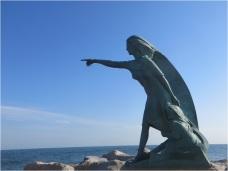 Rimini Fishing Wife and daughter