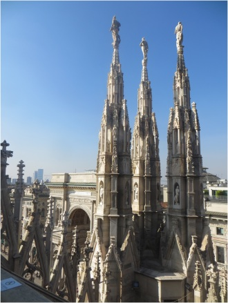 Milan Cathedral Roof