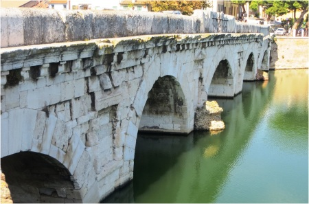 Roman Bridge Rimini