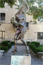San Marino Statue 2