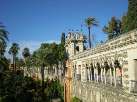 Seville Alcazar Gardens