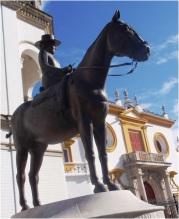 Seville Bullring Statue