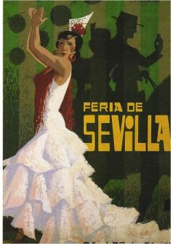 Seville Postcard Dancer