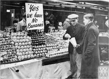 1954 Banana Rationing