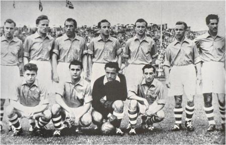1954 Saarland Football Team