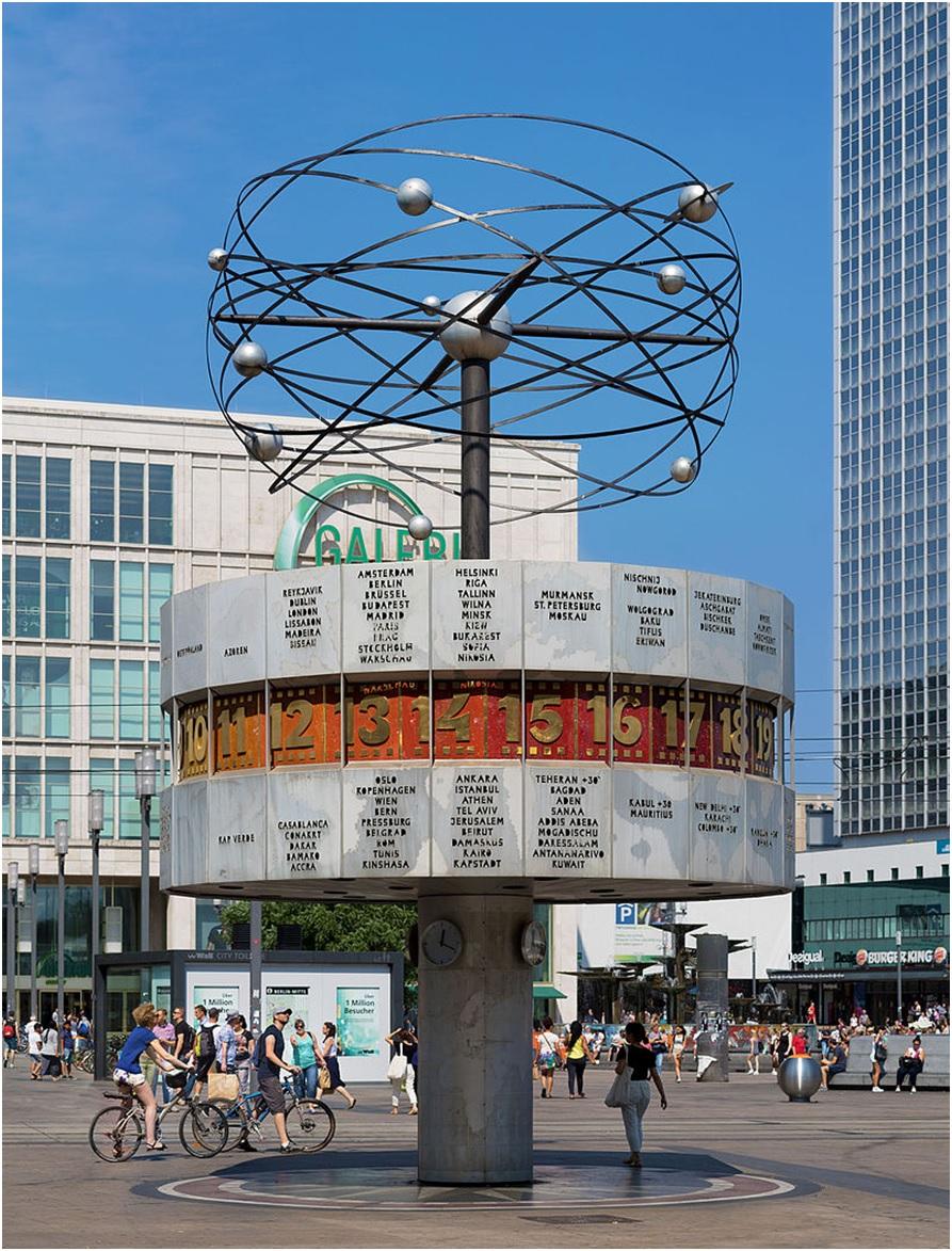 Alexanderplatz World Clock