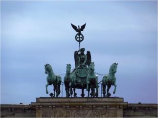 Berlin Brandenburg Gate Statue
