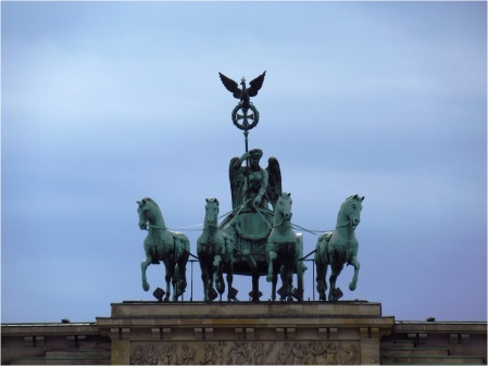 Berlin Brandenburg Gate Statue
