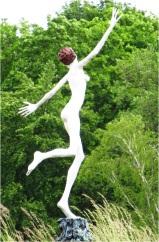 Berlin Dancing Statue