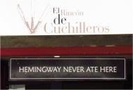 Hemmingway not eat
