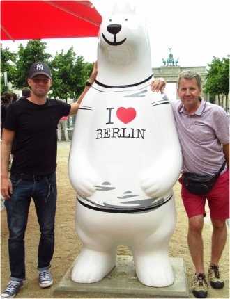 I Love Berlin Bear
