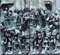 Madrid Cathedral Door