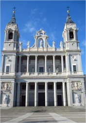 Madrid Cathedral Exterior