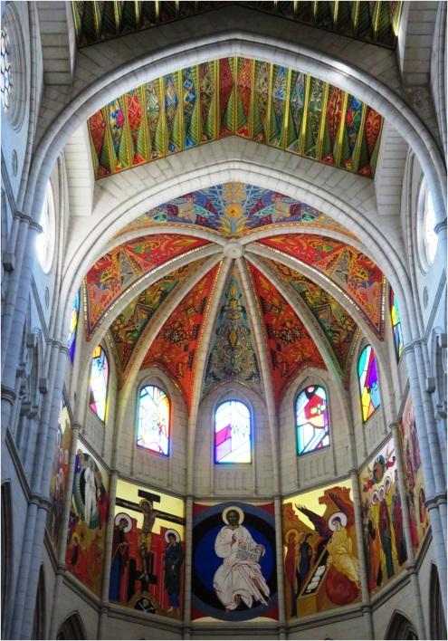 Madrid Cathedral Interior 1