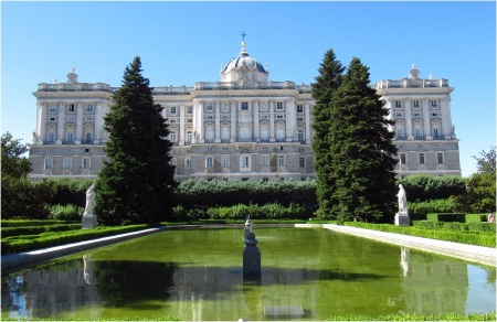 Madrid Palace Gardens