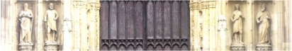Beverley Minster Door Header