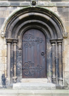 Bridlington Priory Door