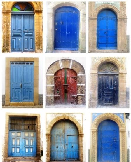 Essaouira Doors Morocco