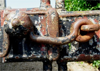 Skipsea Church Gate Detail