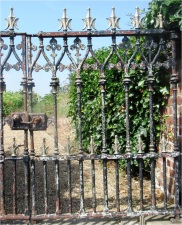 Skipsea Church Gate