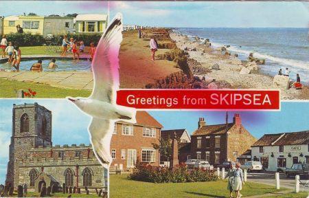 Skipsea postcard