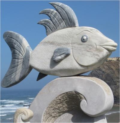 Odeceixa Fish Statue