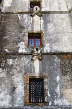 Evoramonte Castle Windows