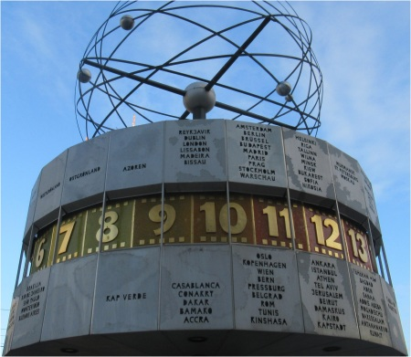 Berlin Alexanderplatz World Clock