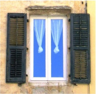 Corfu Texture Window